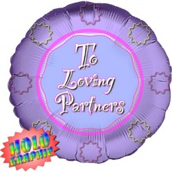 "TO LOVING PARTNERS 18"" SALE"
