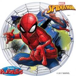 "SPIDER-MAN WEB SLINGER 22"" SINGLE BUBBLE"