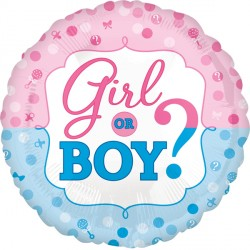 GENDER REVEAL STANDARD S40 PKT