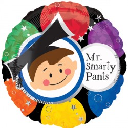 MR SMARTY PANTS BLACK STANDARD S40 PKT