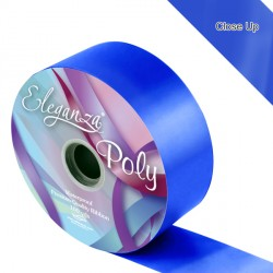"ROYAL BLUE 2"" ELEGANZA POLY RIBBON 91M"