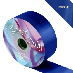 "NAVY BLUE 2"" ELEGANZA POLY RIBBON 91M"