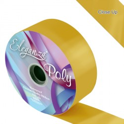 "GOLD 2"" ELEGANZA POLY RIBBON 91M"