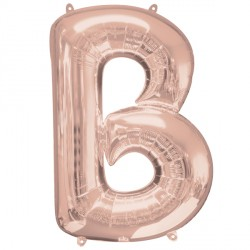 ROSE GOLD LETTER B SHAPE P50 PKT