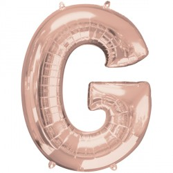 ROSE GOLD LETTER G SHAPE P50 PKT