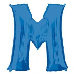 BLUE LETTER M SHAPE P50 PKT (5CT)
