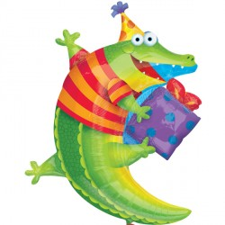 ALLIGATOR LEAP FROG BIRTHDAY SHAPE SALE