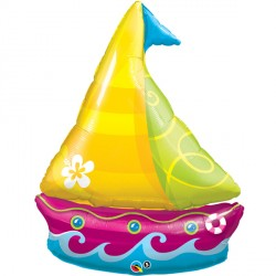 TROPICAL SAILBOAT SHAPE SALE
