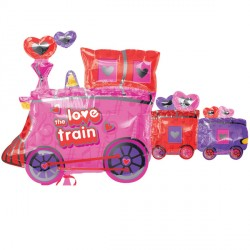 LOVE TRAIN SHAPE SALE