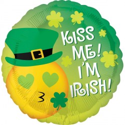 EMOTICON KISS ME IRISH STANDARD S40 PKT