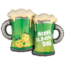 EMOTICON ST. PATTY'S MUGS SHAPE P35 PKT
