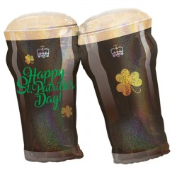 BEER GLASSES ST. PATRICK'S DAY SHAPE P40 PKT