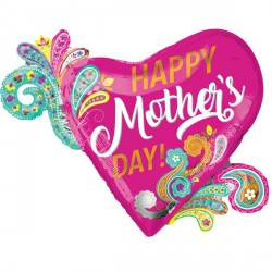 PAISLEY MOTHER'S DAY SHAPE P35 PKT