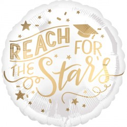 REACH FOR THE STARS WHITE & GOLD STANDARD S40 PKT