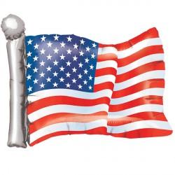 AMERICAN FLAG SHAPE P35 PKT