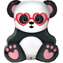 "LOVESTRUCK PANDA BEAR 32"" SHAPE GROUP B PKT"