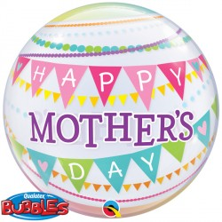 "PENNANTS MOTHER'S DAY 22"" SINGLE BUBBLE"
