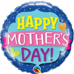 "EMBLEM BANNER MOTHER'S DAY 18"" PKT"