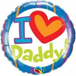 "I (HEART) DADDY 18"" PKT"