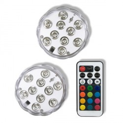 10 L.E.D LIGHTS WITH REMOTE CONTROL (1CT)