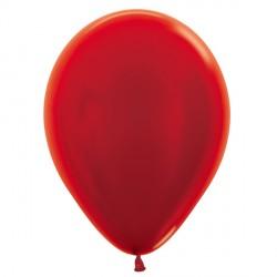 "RED 515 5"" SEMPERTEX METALLIC (100CT)"