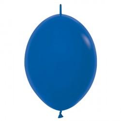 "ROYAL BLUE 041 6"" LINK O LOONS SEMPERTEX FASHION (100CT)"