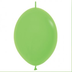 "LIME GREEN 031 12"" LINK O LOONS SEMPERTEX FASHION (50CT)"
