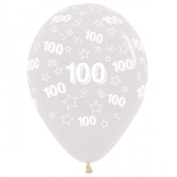 "100 STARS 12"" CLEAR SEMPERTEX (25CT)"