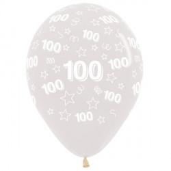 "100 STARS 12"" CLEAR SEMPERTEX (25CT)"