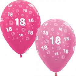 """18 FLOWERS 12"""" PINK MIX SEMPERTEX (25CT)"""