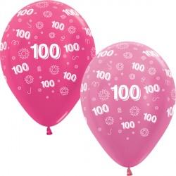 """100 FLOWERS 12"""" PINK MIX SEMPERTEX (25CT)"""