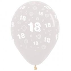 "18 FLOWERS 12"" CLEAR SEMPERTEX (25CT)"