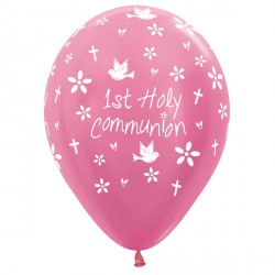 "COMMUNION 12"" FUCHSIA SEMPERTEX (25CT)"