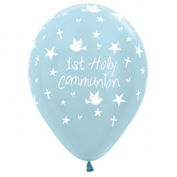 "COMMUNION 12"" BLUE SEMPERTEX (25CT)"
