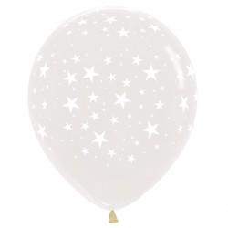 "STARS 15"" CLEAR SEMPERTEX (25CT)"