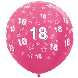 """18 STARS 36"""" FUCHSIA SEMPERTEX (2CT)"""