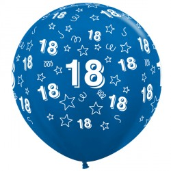 "18 STARS 36"" BLUE SEMPERTEX (2CT)"