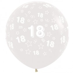 "18 STARS 36"" CLEAR SEMPERTEX (2CT)"
