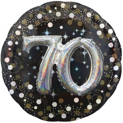 SPARKLING CELEBRATION 70 MULTI BALLOON SHAPE P75 PKT