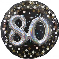 SPARKLING CELEBRATION 80 MULTI BALLOON SHAPE P75 PKT