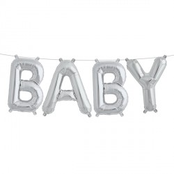 BABY KIT SILVER 16""