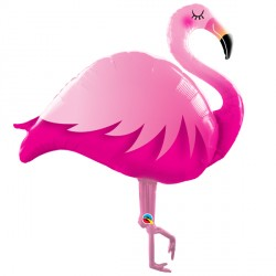 "PINK FLAMINGO 38"" SHAPE GROUP C PKT"