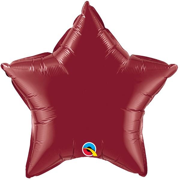 Stern Deko Folien Ballon creme 50.8cm Party Dekoration