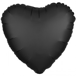 ONYX SATIN LUXE HEART STANDARD S15 FLAT A