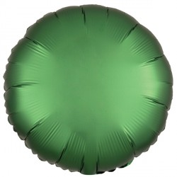 EMERALD SATIN LUXE ROUND STANDARD S15 FLAT A