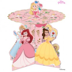 DISNEY TRUE PRINCESS CUPCAKE STAND (1CT X 6 PACKS)
