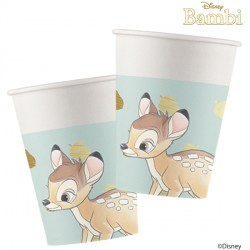BAMBI CUTIE PAPER CUPS  (8CT X 6 PACKS)