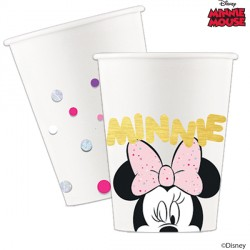 MINNIE MOUSE PARTY GEM PAPER CUPS  (8CT X 6 PACKS)