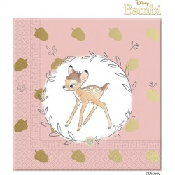 BAMBI CUTIE PAPER NAPKINS 3-PLY (20CT X 6 PACKS)