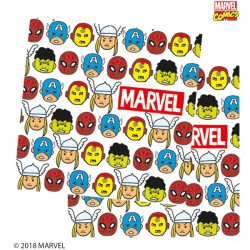 AVENGERS POP COMIC PAPER NAPKINS 3-PLY (20CT X 6 PACKS)
